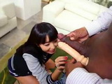 Tight Japanese Pussy Is Ideal For BBC