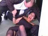Old Taxi Driver Fucks Home Alone MILF