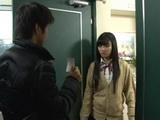 Japanese Teen Was Forced To Fuck A Guy Blackmailing Her With Sex Photos He Found On A Street