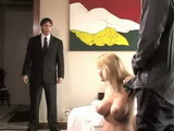 Horny Stepmom Get Fuck By Her Husbands Boss And Caught By Her Stepson