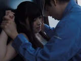The Courier Package Find Out That Cute Girl Lives Alone So He Get In Action Immediately  Mitsuki Akai