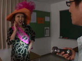 Minegishi Fujiko Seduced And Fucked School Janitor In The Classroom After Hours