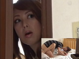 Busty Milf Mom Saw Her Son Fucking His GF SO She Did The Same With Young Naive Neighbor  Yumi Kazama
