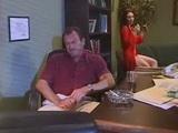 Hot Secretary Catches Boss Being Bad