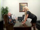 Secretary Bridgette Relaxed Boss After a Quarell