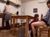 Japanese Teen Jumps On Her Best Friends Boyfriend With Her Still In The Room