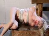 Tied Up Teenage Girl Endure Her Punishment Very Difficult