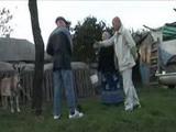 Lonely Grandma Has A Good Fuck On The Farm