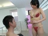 Teen Cutie Airi Suzumura Blows Cock For Messy Facial