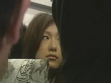 Businessgirl groped by Stranger in a crowded train