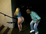 Tonight Big Breasts Slutty Blonde Is Going To Ride A BBC Picked Up From The Street