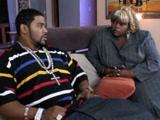 Big Black Afroamerican Phat Mama Fucking Young Guy