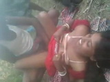 Hot Indian Schoolgirl Fucked Outdoors By Her Classmates