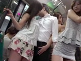 Pervert Fellow Followed Hot Asian Teen And Fucked Her In The Middle Of The Bus