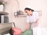 Head Nurse Julia Is Nursing Her Scared For His Life Patient Very Well