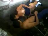 Voyeur Taped Mexican Teen Fucking Under The Bridge