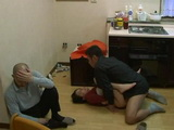 Japanese Wife Gets Beaten And Fucked In Front Of Her Best Friend By Her Own Husband