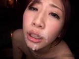 Japanese Teen Girl Yuzuhara Aya Gets Facialized Twice