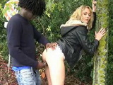 Blonde Street Hooker Picked Up And Fucked By BBC