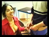 Turkish Secretary Fucking a Bussines Partner At The Office While Waiting For Her Boss To Come