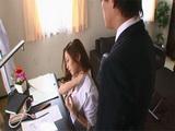 Sales Manager Asami Ogawa Asked Her Assistant For A Shoulder Massage