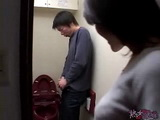 Japanese Mom Caught Boy Masturbating In Toilet