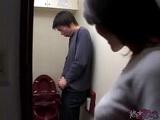 Japanese Mom Caught Boy Masturbating In Toilet