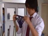 Schoolgirl Caught Her Classmate Sniffing Her Panties He Found On The Floor