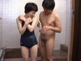 Shy Granny Ono Koharu Has One Naughty Grandson