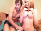 Busty Teen Fucked Hard On A Webcam