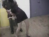 Masked Rapist Brutally Rapes Unfortunate Milf In Basement