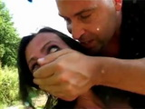 Rough Fuck and Dped For Jena Beckley In the Nature