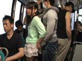 Teen Groped and Bukkaked In Bus
