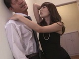 Horny Boss Yui Hatano Forced Employee To Fuck Against His Will