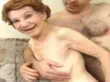 70 Year Old Grandma Gets Fucked Hard