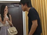 Japanese Guy Never Expected A Visit So He Decided To Take A Look At Porn Magazine But He Gets Surprised By His Neighbor