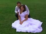 Idyllic Wedding Turns Into Anal Gangbang