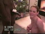 Amateur Wife Enjoys Her Christmas Gift