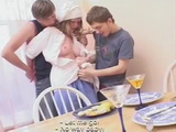 Bad Cook Gets Punished With Fuck For Serving Awful Food  Teen Fuck Fantasy
