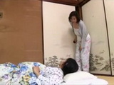 Mother Akemi Ehara Sneaks Late at Night Into Her Sons Bedroom