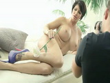 Sizzling Hot Busty MILF Mom Asks StepSon To Take A Few Nude Photo Of Her When Things Get Out Of Control