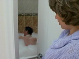 Horny Mother In Law Couldnt Resist To Spy and Fuck Her Young Son In Law In Bathroom