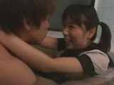 Asian Couple Fucks In A Bath
