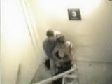 Real Stairway Sex Secretly Taped
