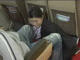 Air Hostes Gives Full Tekoki Service To Horny Customer