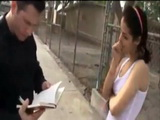 Naughty Stepdaughter Gets Busted By Daddy In Rewriting Her Bad Grades And Gets Punishment As She Deserves