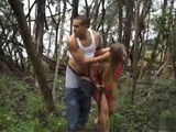 Kidnapped Teen Gest Tied and Brutally Fucked In the Middle Of a Swamp