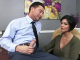 Divorced Mature Milf Boss With Big Tits Is Always Cock Hungry