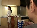Spying on Sister In Law Yuuki Fuwari While She Masturbates In Bathroom