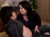 Unrestrained Stepmother Chizuru Iwasaki Gives Harsh Lesson To Her Teenage Stepson